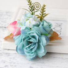 Fashion Korean Style Colorful Flowers Hair Clips