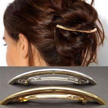 Fashion Gold and Silver Plated Hair Clips