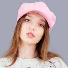 Fashion Warm Solid Cap for Women