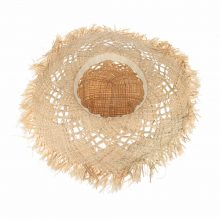 Boho Style Women's Straw Hat with Large Brims