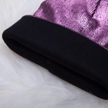 Women's Glossy Knitted Hat