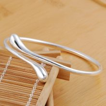 Classic Silver Plated Double Round Head Bracelet