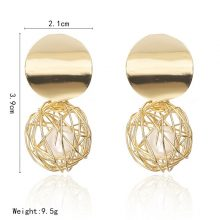 Luxury Gold Drop Earrings for Women