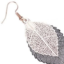 Women's Leaf Shaped Drop Earrings