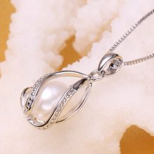 Elegant Pearl Drop Pendant Necklace