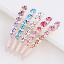 Crystal Rhinestone Hair Clips Set