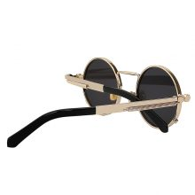 Round Shaped Retro Sunglasses