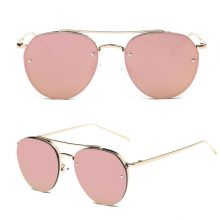 Women's Gold Hippie Style Sunglasses