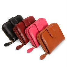 Women's Compact Leather Wallet