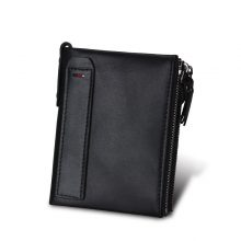 Compact Women's Genuine Leather Wallet