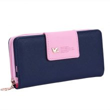Fashionable Faux Leather Wallet with Credit Card Holder