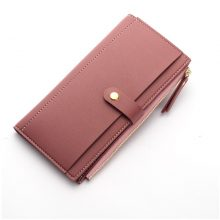 Luxury Long Durable Leather Women's Wallet