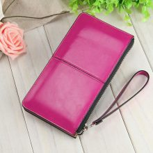 Fashion Capacious Leather Women's Wallet