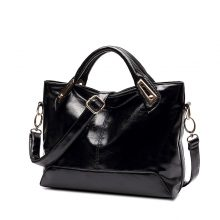 Women's Soft Oil Leather Shoulder Bag