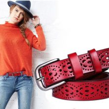Fashion Genuine Leather Women Belt