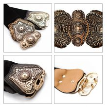 Women's Ethnic Elastic Belts