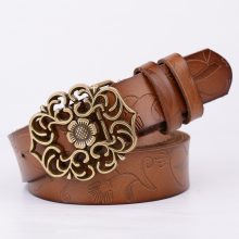 Women's Vintage Leather Belt