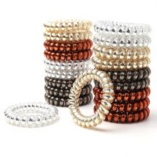 Women's Telephone Wire Shaped Plastic Bands Set