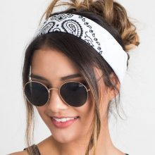 Women's Cotton Square Headbands